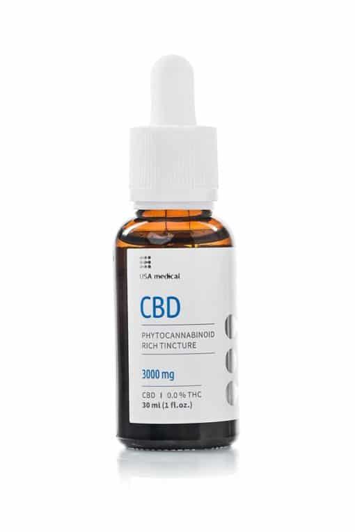 USA Medical 3000mg CBD Oil Bottle
