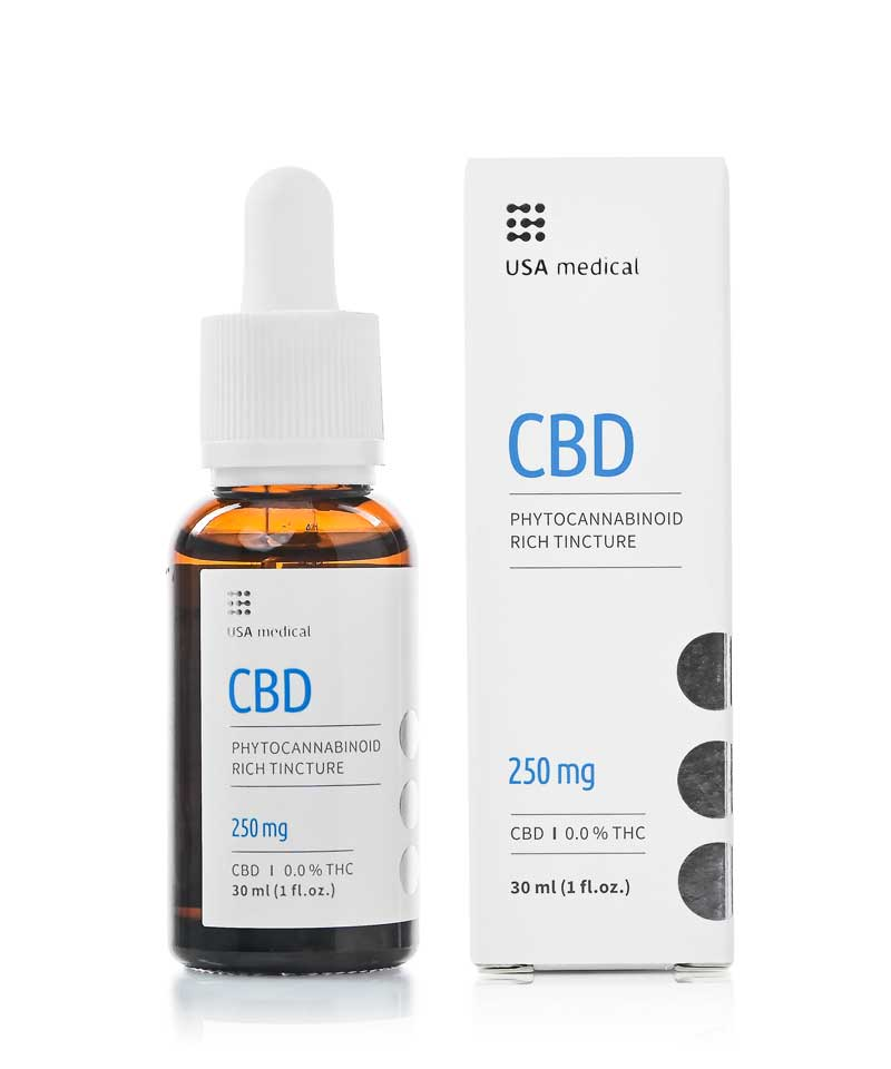 USA Medical 250mg CBD Oil