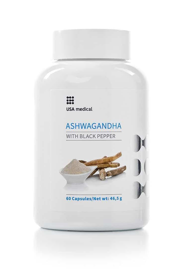 USA Medical Ashwagandha - Free Shipping