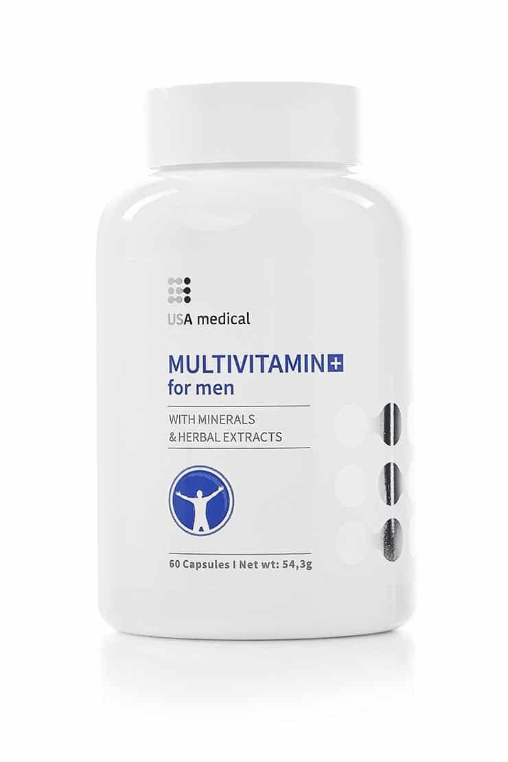 Men's Daily Multivitamin USA Medical - Free Shipping