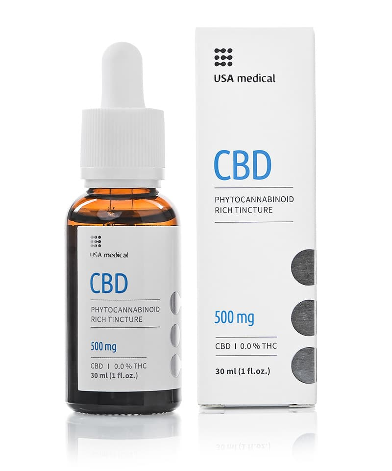 USA Medical 500mg CBD Oil