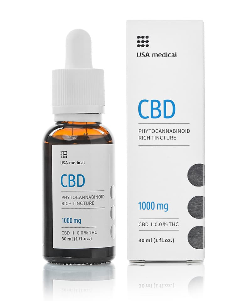 USA Medical CBD Oil 1000mg