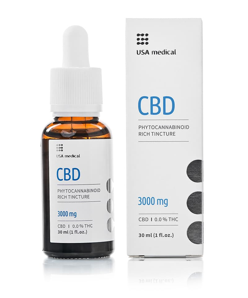 USA Medical 3000mg CBD Oil